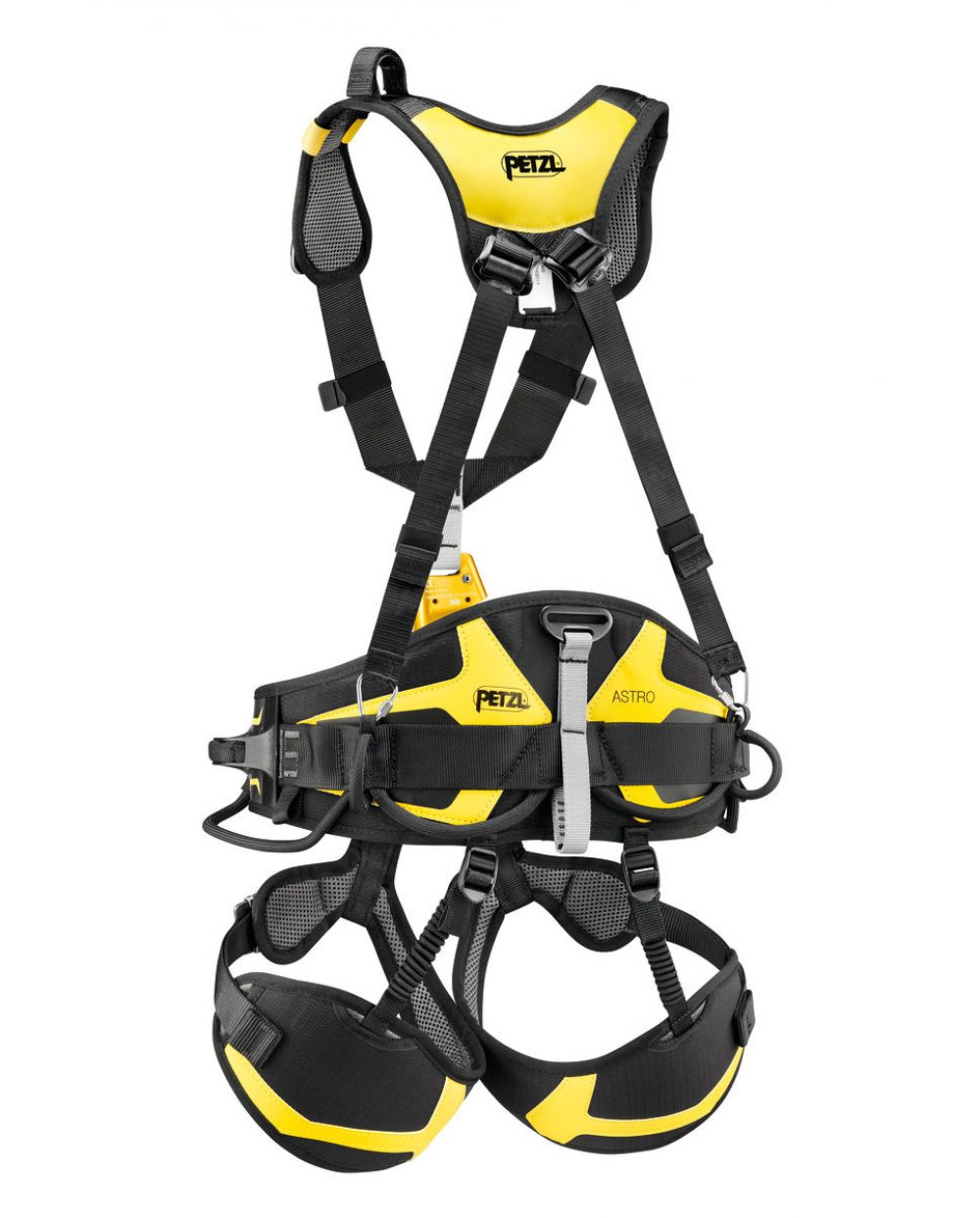 Petzl avao Sit pr/ès de 2 2 Black//Yellow